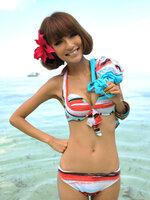 (Pre Order) Bikini ชุดว่ายน้ำ ทรีพีช