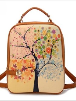 ✿ กระเป๋าเป้เกาหลี ✿ ไซส์ipad หนัง PU 20ลายให้เลือก