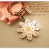 ## เหลือชิ้นสุดท้ายชิ้นเดียวค่ะ ## Authentic!! Coach Pink Flowery Keychain พวงกุญแจ Coach Pink Flowery สวยหวาน ดูดีมีสไตล์