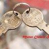 ดอกกุญแจ ตัวล็อคสูบลม Honda C92 C95 C72 C77 (2ดอก ตามรูป)
