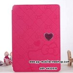 Luxury Lovely Hello Kitty Smart Leather Case Cover For iPad 2/3/4 Filp Stand Leather Cover Case