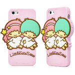 Little Twin Stars Silicone case for Iphone4
