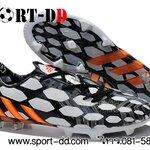 รองเท้าฟุตบอล Adidasรุ่น  Predator Instinct FG Black  White Orange 39 - 44 งานคุณภาพระดับ Top Quality ส่ง EMS FREE ทุกวัน