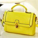 กระเป๋าแฟชั่น Axixi สีเหลือง เทรนด์ใหม่มาแรง เหมาะกับสาวๆที่คลั่งไคลิแฟชั่นสไตล์เซเลบริตี้