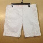 เอว36-40 งานเกรดห้าง กางเกงคนอ้วน ผ้า cotton&spandex สีขาวครีม สวยมาก ขาสามส่วน