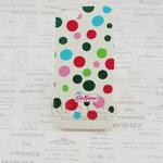 เคส iphone5 Cath Kidston ลายจุด สีขาว