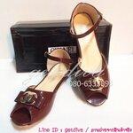 รองเท้า Chanel คัชชูส้นเตี้ย (36-39)