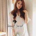 Best Item! Lovely Dress Blossom Embroider By Seoul Secret