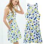 floara dress zara print [ขายส่ง520.-]