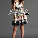 "I-Vivaa recommend "" Dotty flora dress """
