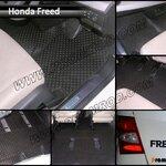 พรมปูพื้นรถยนต์ HONDA FREED ลายกระดุม เต็มคัน
