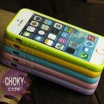 เคสไอโฟน iPhone5 ซิลิโคน สีทึบ น่ารัก
