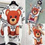 เสื้อตัวยาวน้องหมี moschino [ขายส่ง300.-*]