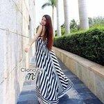 Cliona made, Galmour Gorgeous Stripe Dress