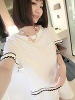 เสื้อ+กางเกงสีขาว