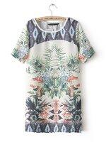 Dress print ZARA [ขายส่ง 450]